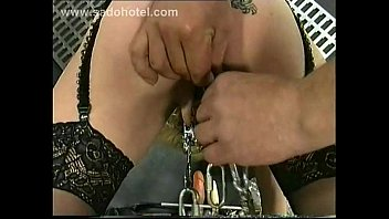 ♥ MarVal - Queen Size Dildo In The Pussy To Stretch That Big Lips ♥