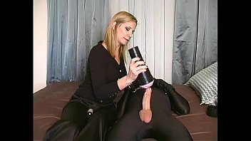 FETISH MISTRESS HANGS CHAINS AND FUCKS HER HELPLESS SLAVE
